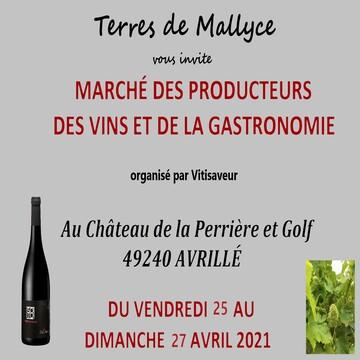Salon des vins en extérieur à AVRILLÉ au CHATEAU DE LA PERRIERE (49)
